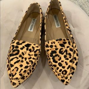 Steve Madden Feather-L Genuine Calf Hair Loafer